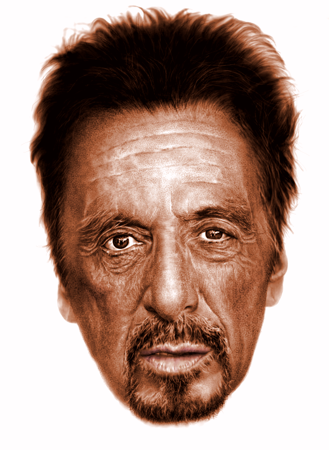 Al Pacino digital portrait