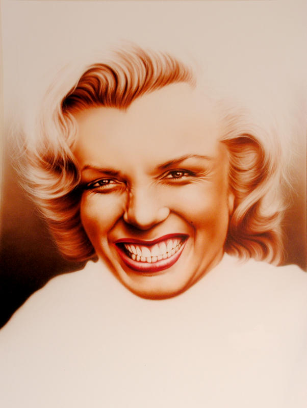 Marilyn Monroe by rageofreason