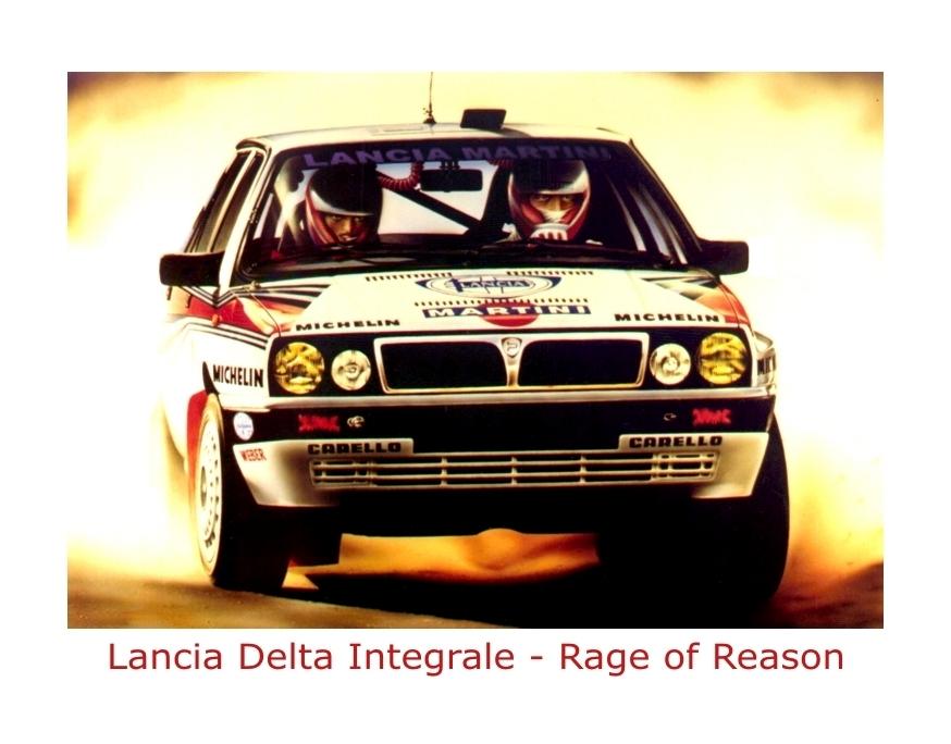 Lancia Delta Integrale by rageofreason