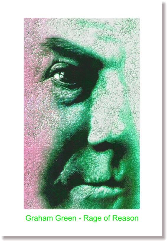 Airbrush Graham Green by rageofreason