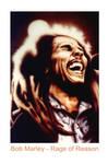 Airbrush Bob Marley