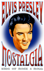 Vintage poster Elvis Presley