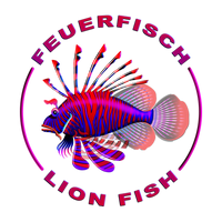 Lionfish / Feuerfisch vector graphic