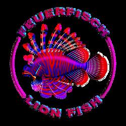Lionfish / Feuerfisch vector graphic