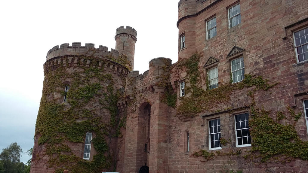 Dalhousie Castle by PoisonedRazorBlades
