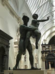V and A statues