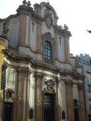Baroque church, Milan by photodash