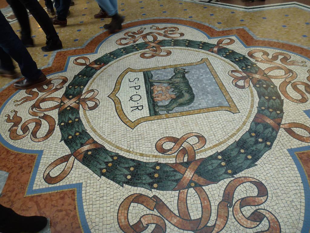 Mosaic floor by photodash