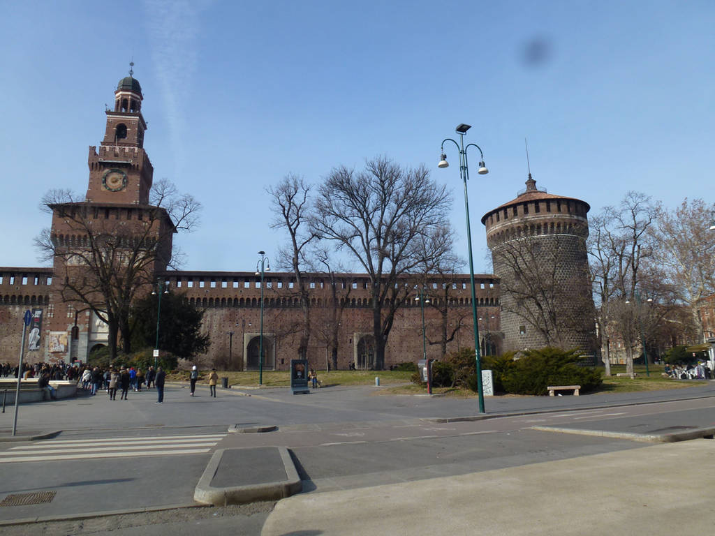 Sforza Castle by photodash