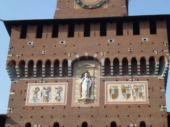 Sforza tower by photodash