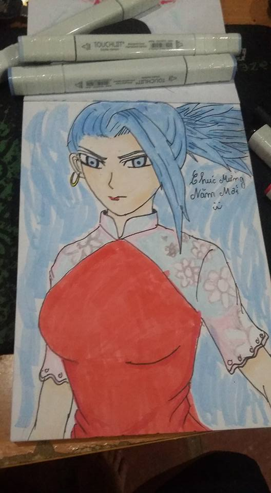 Kale form dragon ball super :)) Blue :)) by HaiKaiser12