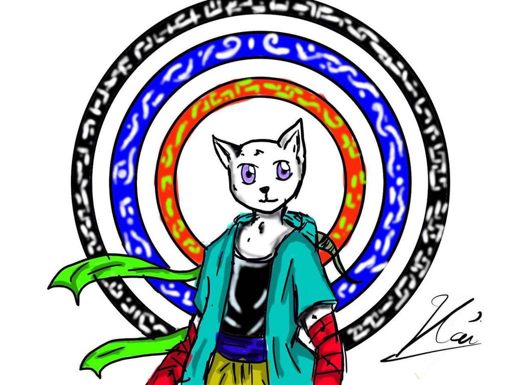 kitty on god path by HaiKaiser12