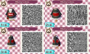 [QR Code] Mikotsu's dress