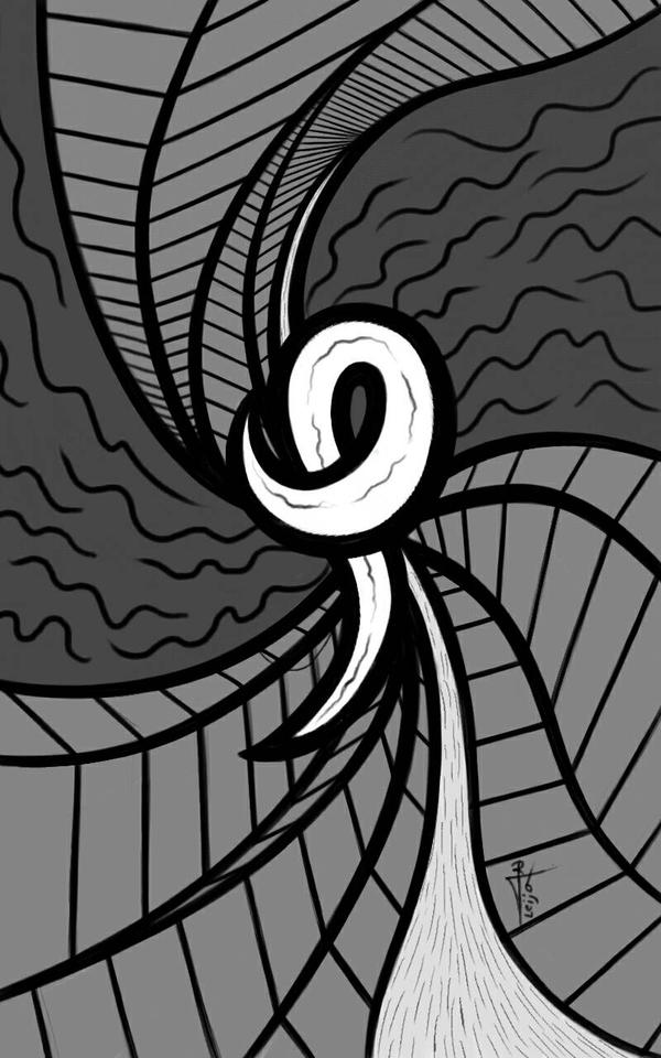 Dimension Scene 75 2016 Robert T Leija by Robert-Leija
