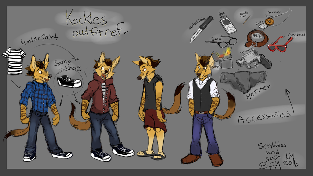 Keckles Clothing ref by lauramansfield