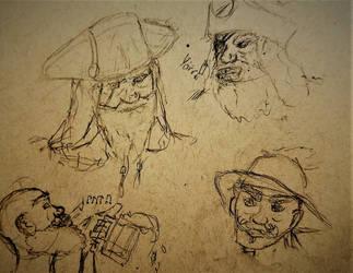pirates   by Kthco