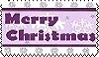 merry christmas stamp by allecca