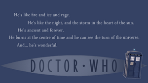 Dr. Who wallpaper by InvisibleJune