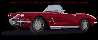 Lola - 1962 Chevrolet Corvette by InvisibleJune