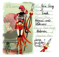 MGW Application : Reina Carrey by CandyPiie
