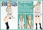 [One Piece OC] Constance Black