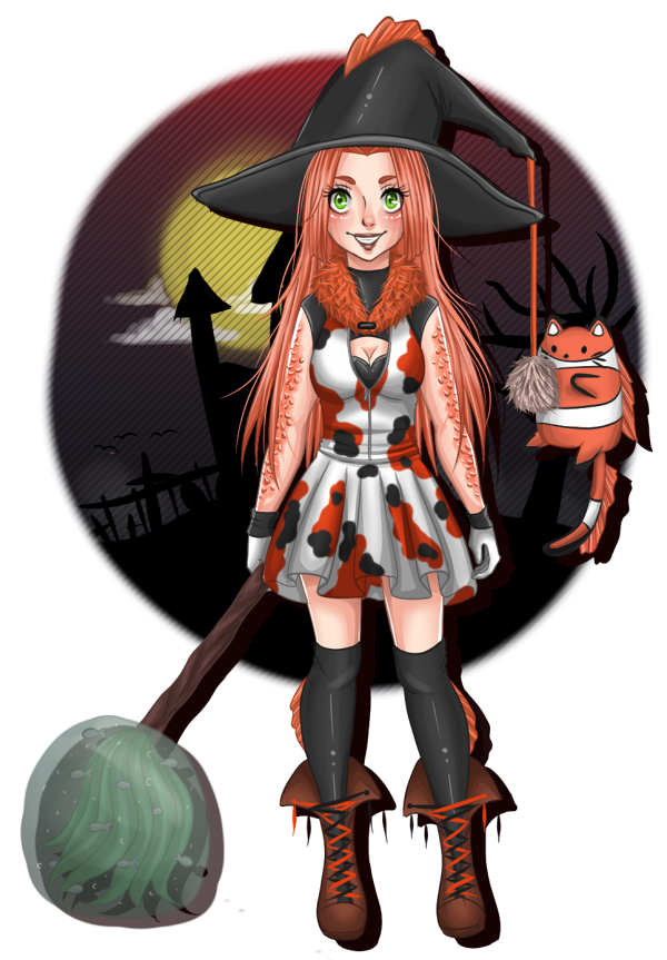 Spooky Fish by CandyPiie