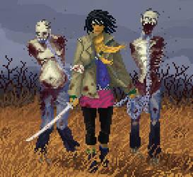 The Walking Dead - Michonne by HarveyDentMustDie