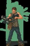 Daryl - The Walking Dead by HarveyDentMustDie