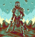 Emerald Knight by HarveyDentMustDie