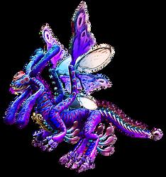 Creature Design - Moonstruck Dragon