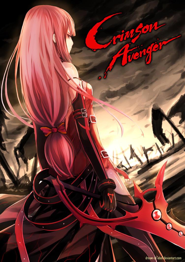 Elesis_Crimson Avenger (elsword) by dream-of-abell