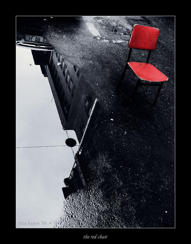 the red chair by sleepingawakerza