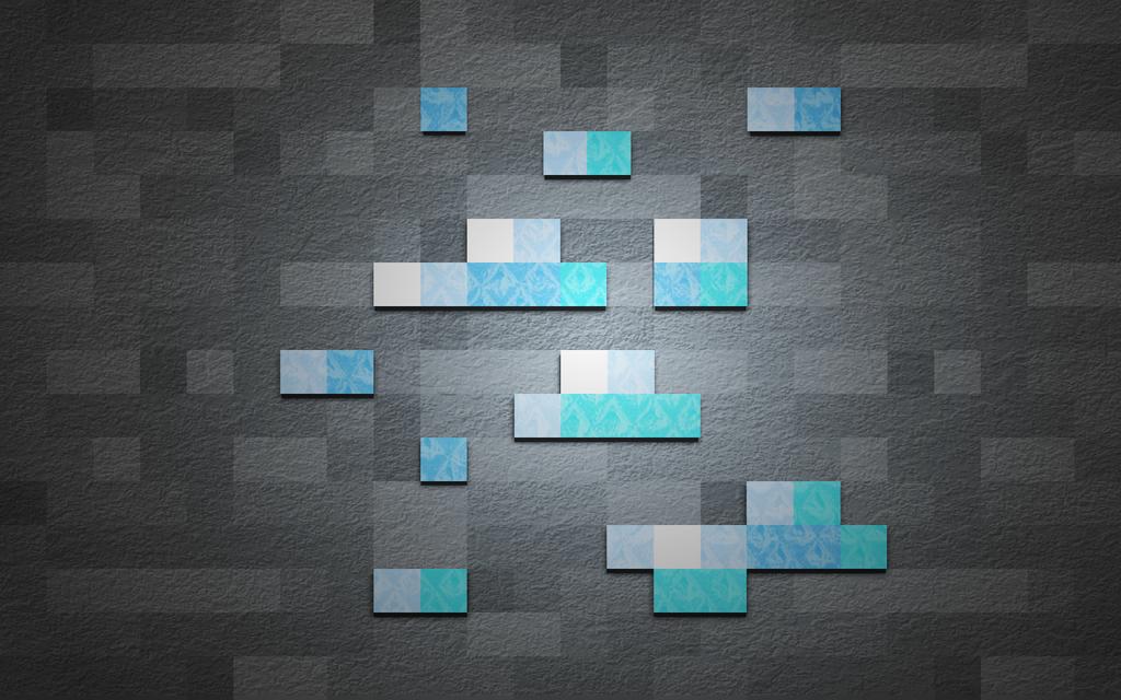 Minecraft Diamond Wallpaper By LastVoltage