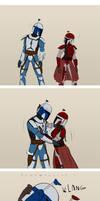 Mandalorian romance takes some time
