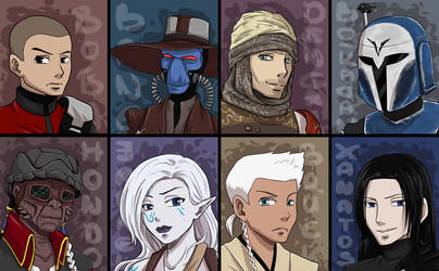 SW sketch cards by rayn44