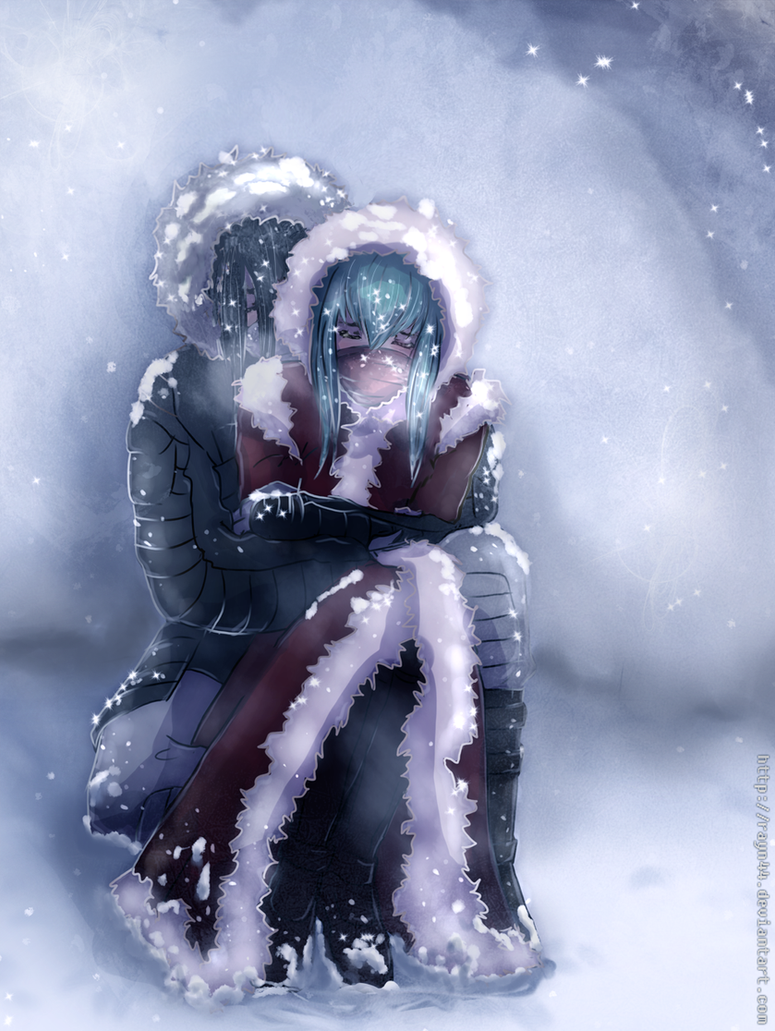 Cuddling Against The Cold by rayn44 on DeviantArt
