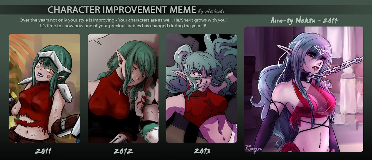 OC Improvement Meme - Aira-ty Nokta by rayn44