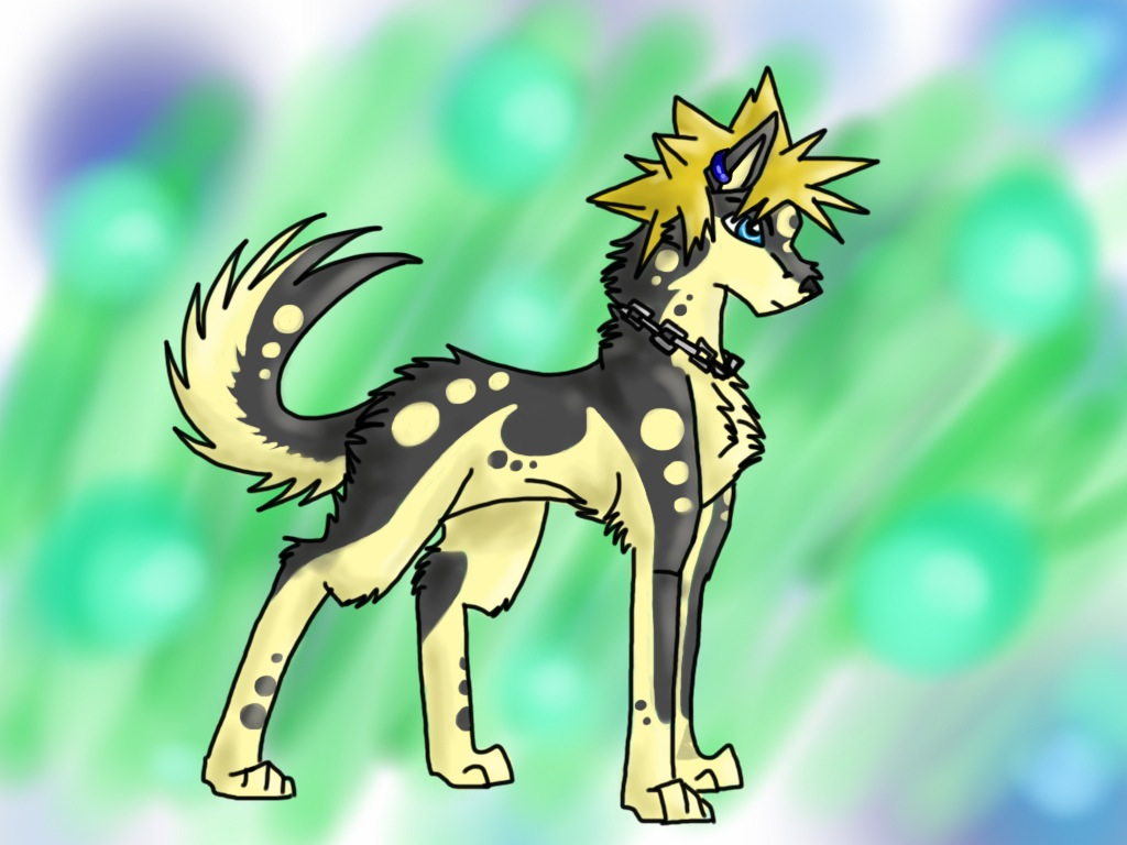 Wolf Link Kingdom Hearts by GrayGreen
