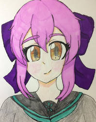 Shinoa fanart-Seraph of the end by NeveCollins