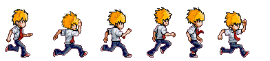 Run Sequence Sprite For Juni By Panku Kyouto On Deviantart