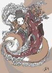 Kitsune by Koggg