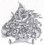 Cheshire Cat by Koggg