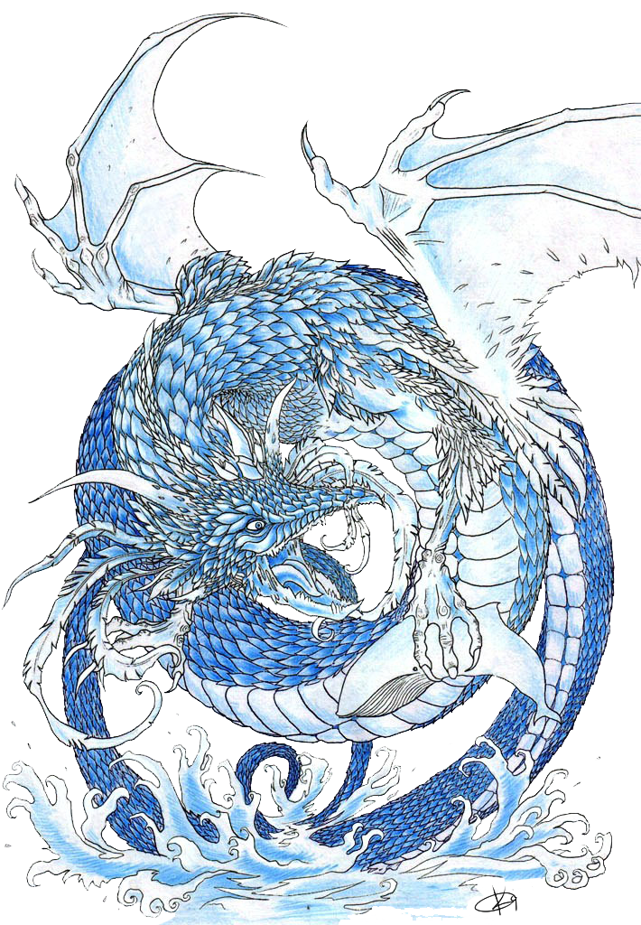 Water Dragon by Koggg on DeviantArt