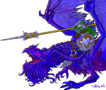 Ultramarine dragon