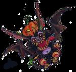 Halloween bat by Koggg