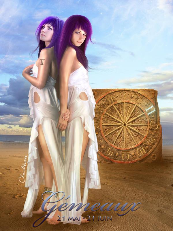 Zodiac : Gemini by clair0bscur