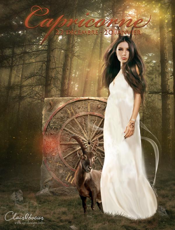 Zodiac : Capricorn by clair0bscur