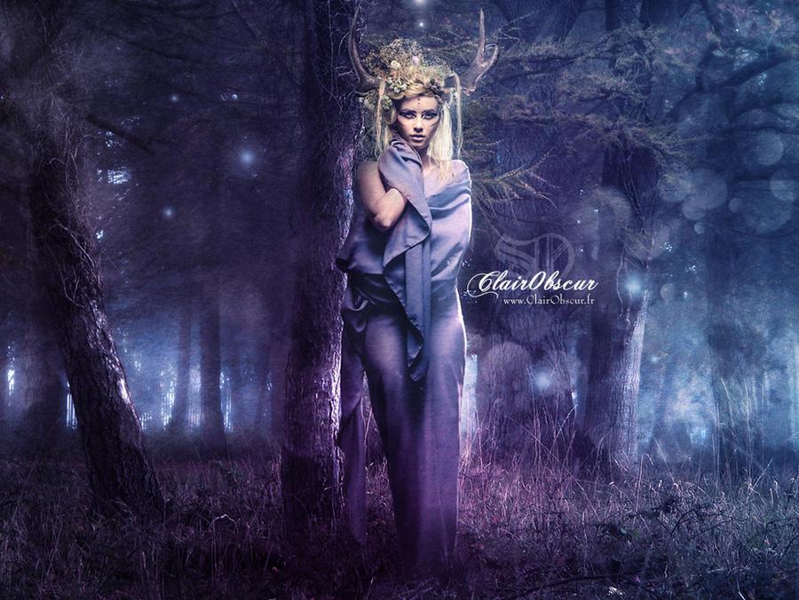 La nuit d'Artemis by clair0bscur