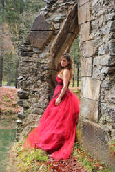 Stock 03 Girl with red dress