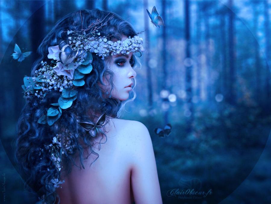 Nymphe au Crepuscule by clair0bscur